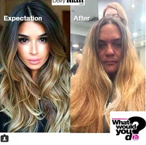 What Would You Do: Balayage Gone Bad!