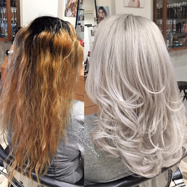 76360100fbfd Color Correction  Frozen Blonde - Behindthechair.com