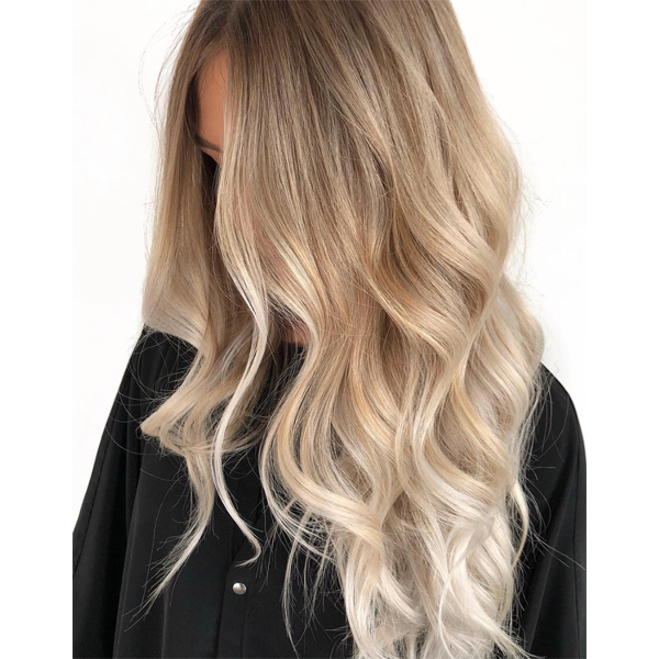 buttery blonde blend color formula @xo.farhana.balayage